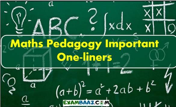 Maths Pedagogy