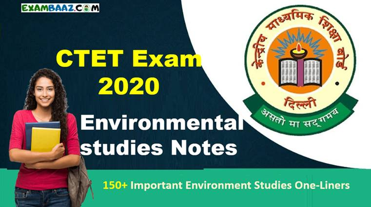 (Environmental studies Notes for CTET Exam)