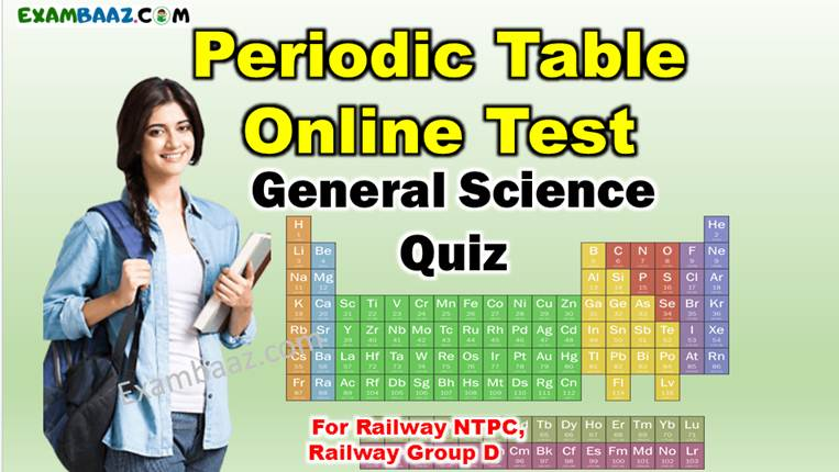Periodic Table Online Test