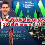 Laureus World Sports Award 2019 Winners List| Sports Current Affairs