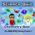 Chemistry Quiz For RRB NTPC Group D level 1 | Atomic Structure