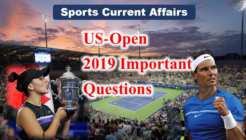 US-open 2019 Important questions
