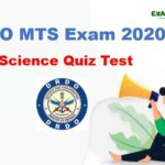 DRDO MTS Exam Quiz Test | Science Questions for DRDO MTS