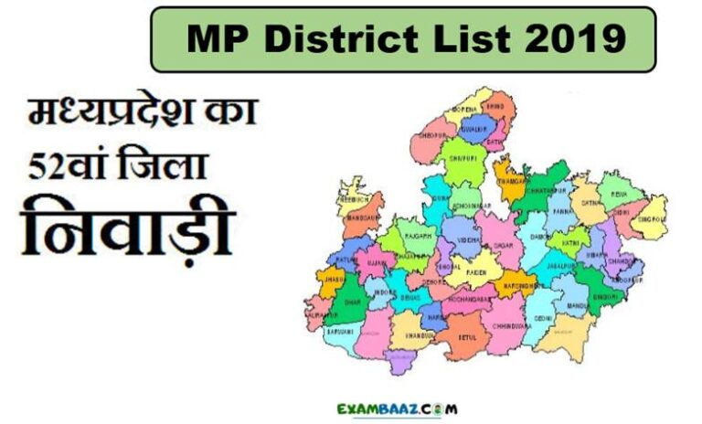 MP District List