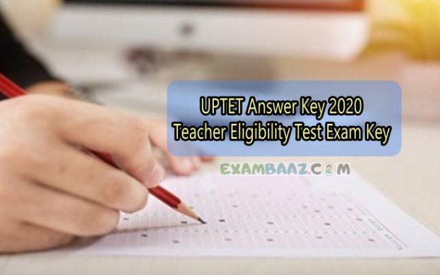 uptet answer key download
