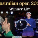 Australian open 2020 Winner List | Important Questions