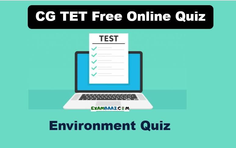 CG TET Free Online Quiz