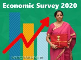 Economic Survey 2020 Important Questions in Hindi