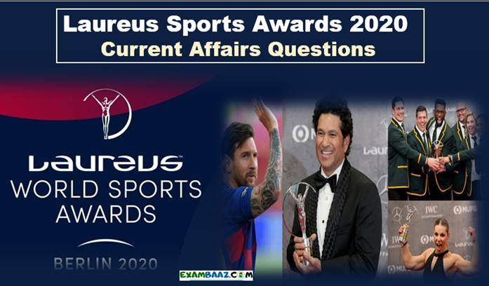 Laureus Sports Awards 2020 Current Affairs Questions