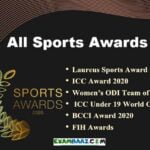 Sports Current Affairs 2020: Sports Awards 2020