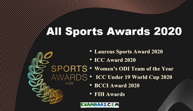 Sports Awards 2020 Current Affairs