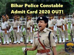 bihar police admit card download