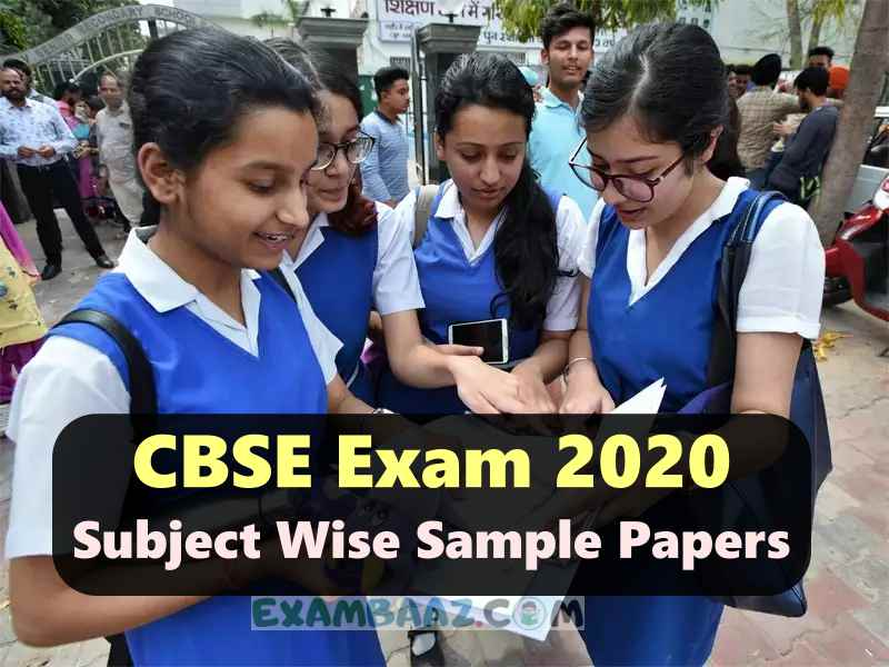 CBSE Class 10 Sample Paper 2020 All Subject [Download PDF*]
