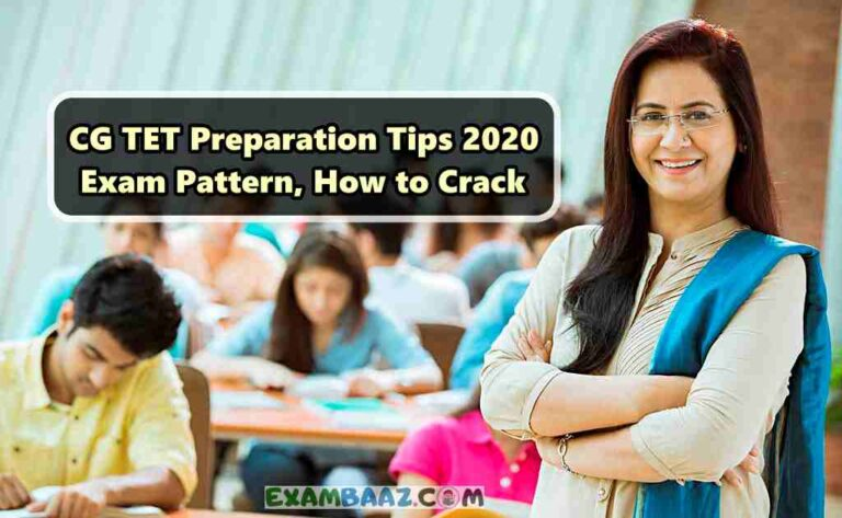 CG TET 2020 Preparation Tips, Strategy, Important Notes
