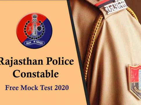 Rajasthan Police Constable Free Mock Test 2020