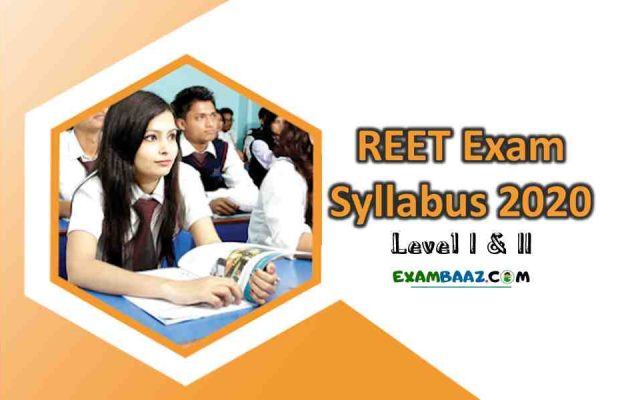 Download REET Exam Syllabus 2020 Level I & II