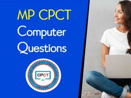 MP CPCT Computer Questions in English