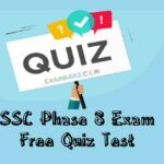 SSC Phase 8 Online Test | Free English Test Series 2020