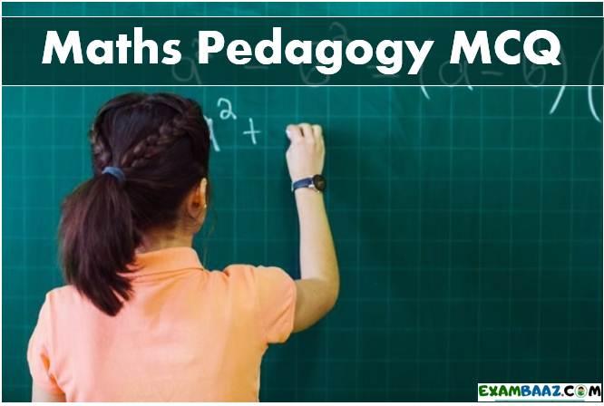 CTET Math Pedagogy Questions