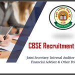 CBSE Recruitment 2020: Apply online For Joint Secretary & Other Post