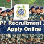 CRPF Recruitment 2020 Apply Online || For 789 Post