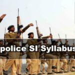 Bihar police SI Prelims \Mains Syllabus 2020 [PDF Download*]