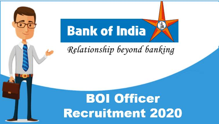 Bank of India Credit Officer Recruitment 2020
