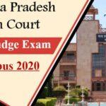 {Pdf Download*} MP High CourtCivil Judge Exam Syllabus 2020