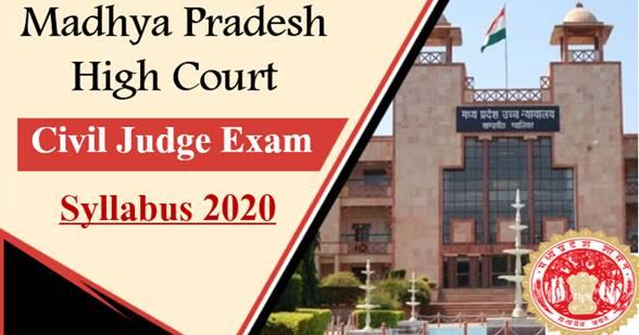 MPHC Civil Judge Exam Syllabus 2020