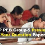 MP PEB Group 5 Previous Year Question Paper [Download PDF**]