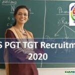 NVS PGT/TGT/FCSA Recruitment 2020 || 454 Post Apply Now!!!!!