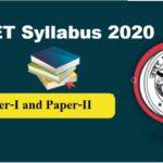 {Updated*} UPTET Syllabus 2020 || PDF Download Now!!!!
