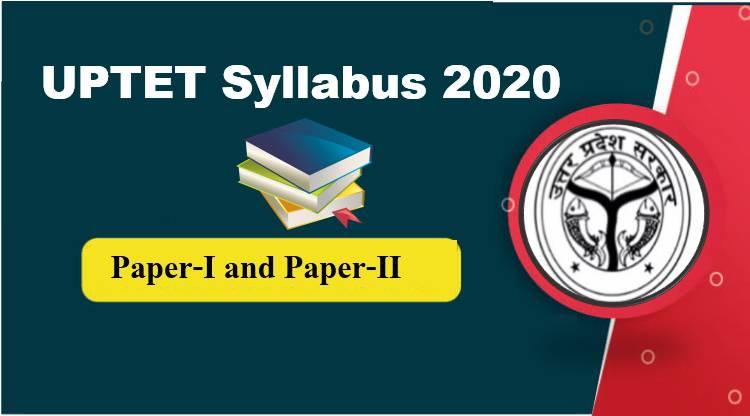 UPTET Syllabus 2020 PDF