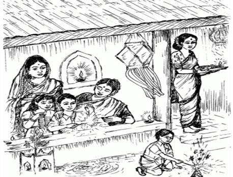 essay in sanskrit on diwali
