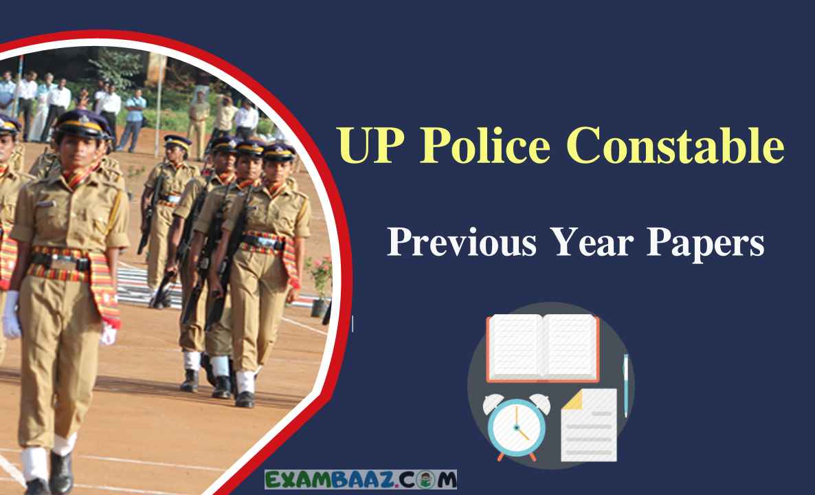 UP Police Constable Old Question Paper Download In Hindi/ English
