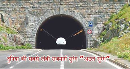 Atal Tunnel Current Affairs