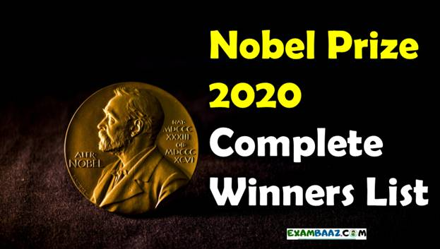 Nobel Prize 2020 Winners List