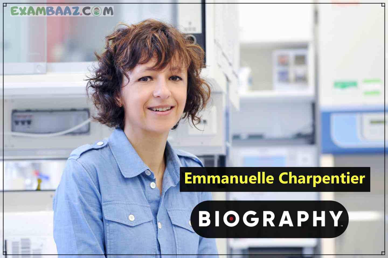 Emmanuelle Charpentier Biography in Hindi