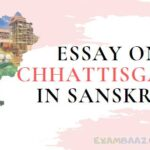 Essay on Chhattisgarh In Sanskrit Language || छत्तीसगढ़ पर संस्कृत भाषा मे निबंध