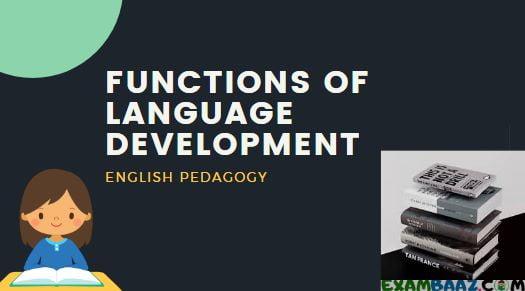 Functions Of Language Development