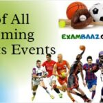 List of All Upcoming Sports Events 2021 || आगामी सभी खेल प्रतियोगिता