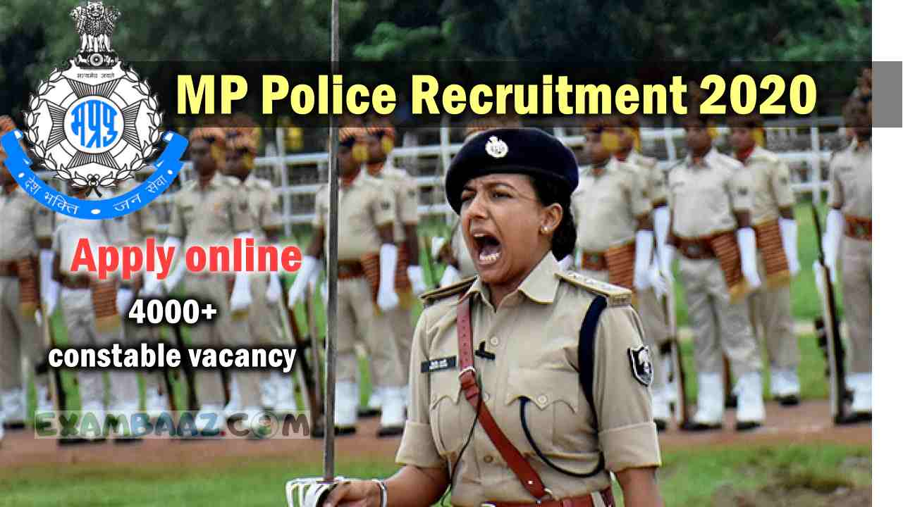 Madhya Pradesh Police Constable Vacancy 2020-21