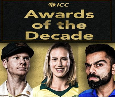 ICC Awards of The Decade 2020