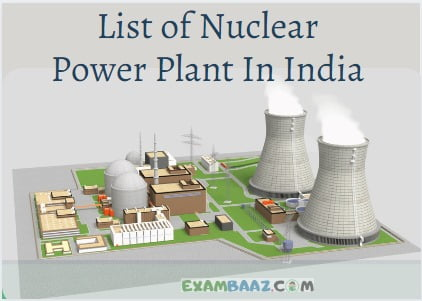 List of Nuclear Power Plant In India