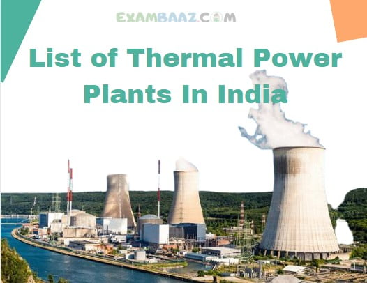 List of Thermal Power Plants In India