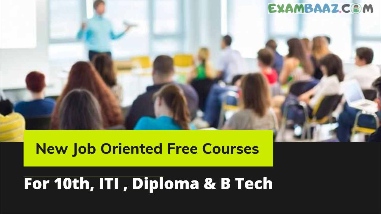 Free Job Oriented Courses 2021