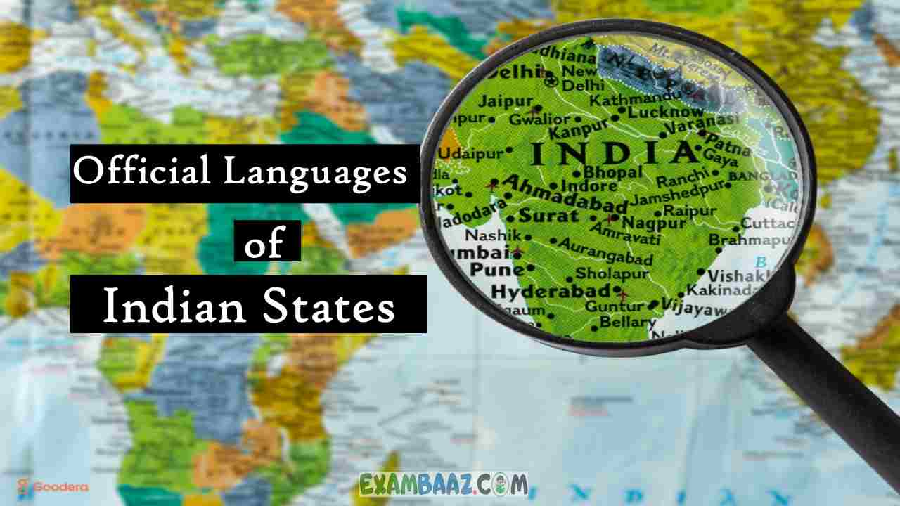 Official Languages of All Indian States