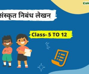 List of Essay in Sanskrit For Class 5 to 12 (NCERT)